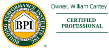 Owner, William Cantey BPI Certified Professional